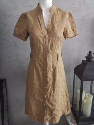 braunes langes Kleid shirt Gr 34 xs