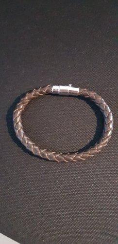 Alraune Lederen armband donkerbruin