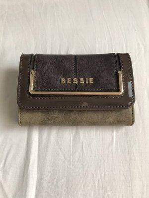 Braunes Portemonnaie Geldbörse von Bessie London NEU