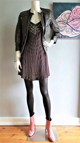 KAREN MILLEN Sukienka z wycięciem ciemnobrązowy