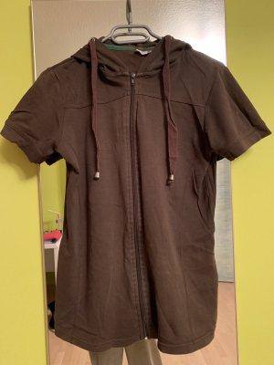 Shirt met capuchon veelkleurig