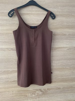 Melrose Tanktop bruin-donkerbruin