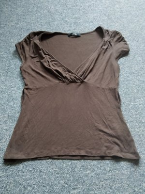 braunes Tshirt von Melrose in Größe 38