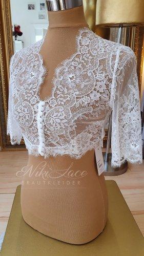 Braut Bolero Spitzenbolero ivory Gr. 38 neu mit Etikett SALE/OUTLET
