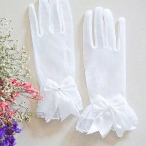 Evening Gloves white