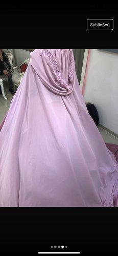 Cinderella Gelinlik Bruidsjurk roze-lichtroze Fluweel