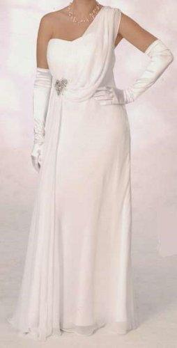 Braut, Hochzeitkleid -Debütantinen Kleid Gr.40