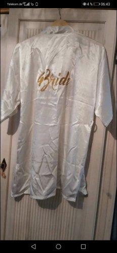 Badjas wit-goud