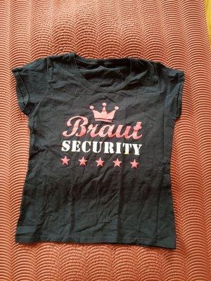 Braut-Security T-Shirt, Junggesellenabschied, JGA, Hochzeit
