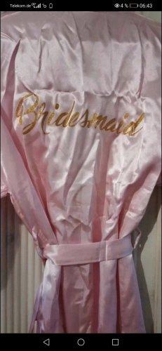 Robe de mariée doré-rose