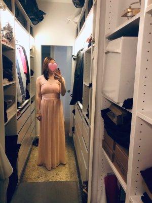 Brautjungfern-/Abendkleid (rosé)