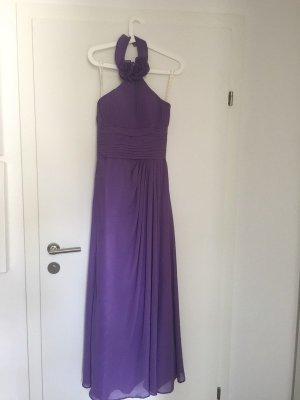 Robe à corsage violet