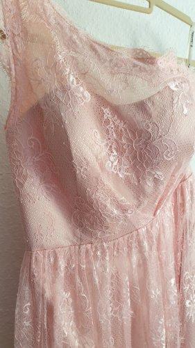 Brautjungfernkleid Kleid Spitze One-Shoulder