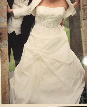 2hearts Wedding Dress white-silver-colored