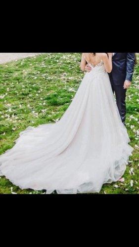 Brautkleid 2018 Größe 34 + Reifrock