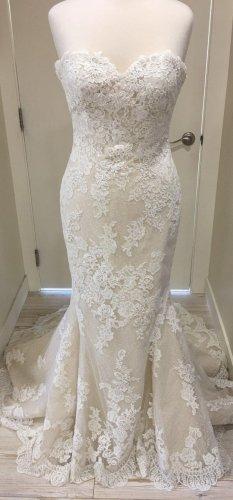 Pronovias Wedding Dress oatmeal