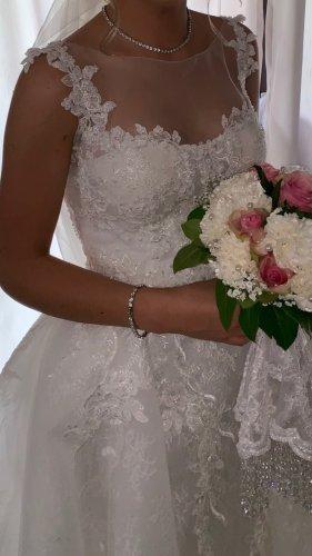 Allure Bridals Abito da sposa bianco