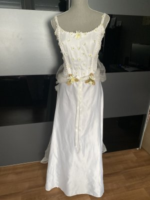 biluca Wedding Dress white satin