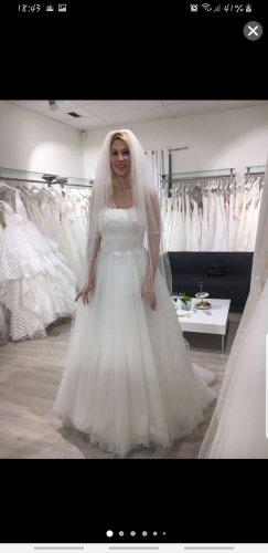 Agnes Vestido de novia blanco puro