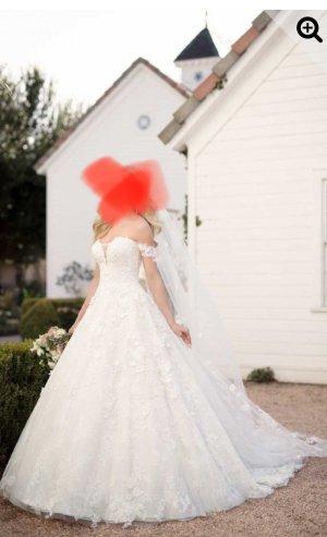 Australia Luxe Collective Suknia ślubna kremowy
