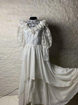 Brautkleid, A Linie/ Ivory, kleine Schleppe