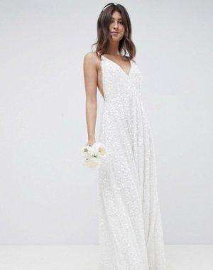 Asos White Wedding Dress white