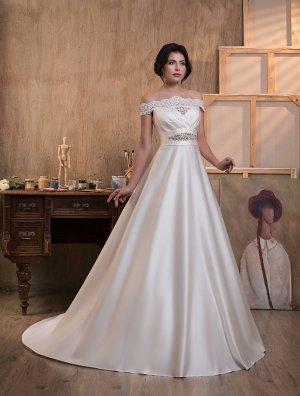Brautkleid aus Satin AB150