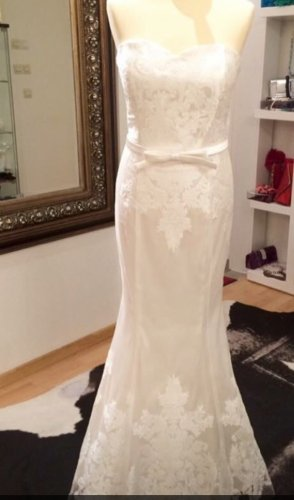 Wedding Dress natural white-white