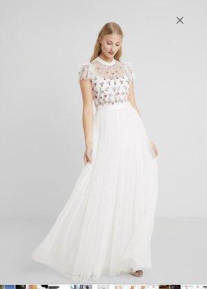 needle & thread Suknia ślubna biały Poliester