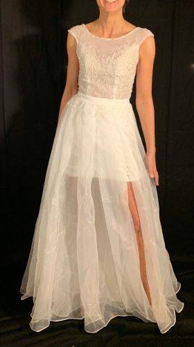Suknia ślubna biały Poliester