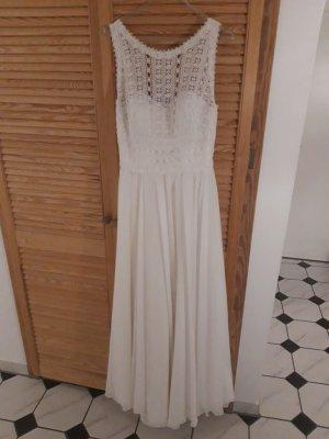 Bianco Evento Suknia ślubna biały Poliester