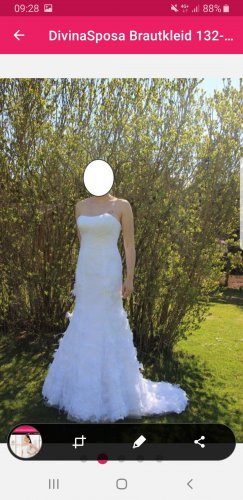 Divina Vestido de novia blanco