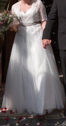 Suknia ślubna biały Koronka