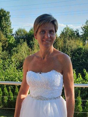 Brautkleid Gr.38-40 sehr schön