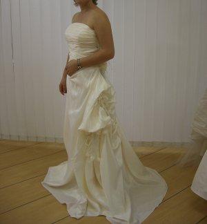 Pronovias Suknia ślubna kremowy-jasnobeżowy