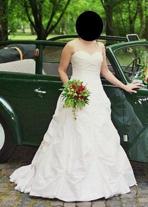 Brautkleid Größe 38 - champagner-farben