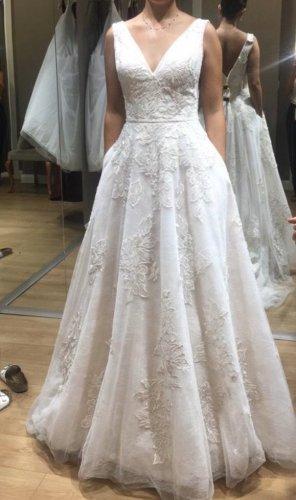 Wedding Dress pink-white