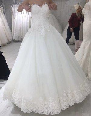 Pierre Cardin Vestido de novia blanco