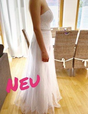 JJs House Wedding Dress white