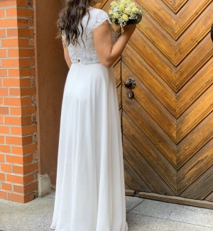 Asos Vestido de novia blanco