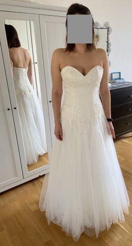 Lilly Vestido de novia blanco Acrílico