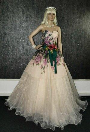 Unbekannte Marke Abito da sposa multicolore Tessuto misto