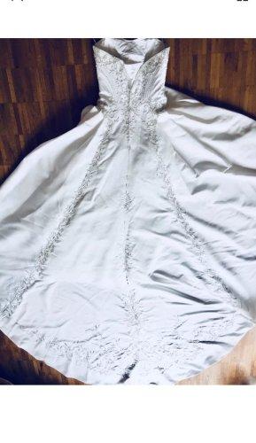 Brautkleid Hochzeitskleid Schleier Corsage