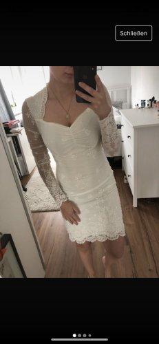 Ashley Brooke Vestido de novia blanco-blanco puro