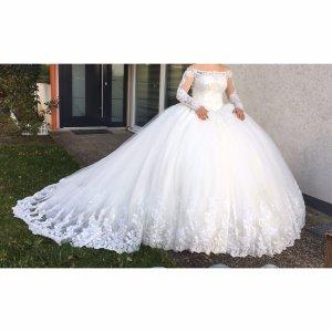 Brautkleid Hochzeitskleid Verlobungskleid Hennakleid Abaya Gelinlik