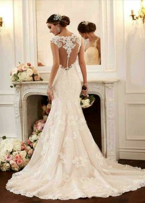 Brautkleid Hochzeitskleid von Stella York Gr. 42