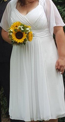 Brautkleid Höpfner Gr 48, knielang