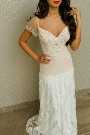 Brautkleid im Boho Stil