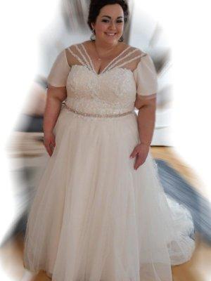 Brautkleid in Rose