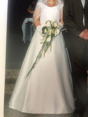 Joop! Suknia balowa w kolorze białej wełny